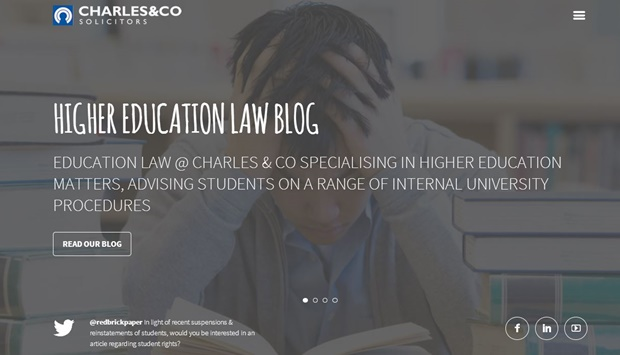 Higher Education Law Solicitors Charles And Co Solicitors Legal Specialists Birmingham